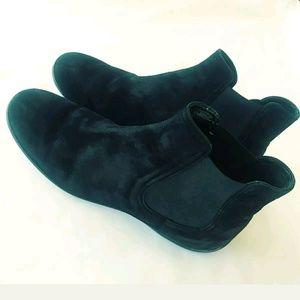 Hogan Black Ankle Boots size 38 Elastic